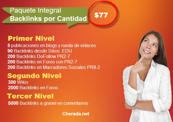 paquete integral backlinks por cantidad
