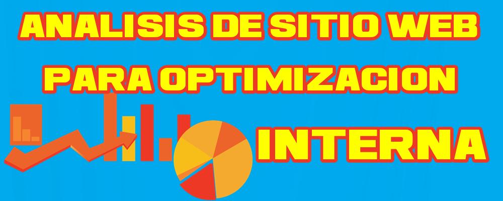 Análisis de Sitio Web para Optimización Interna