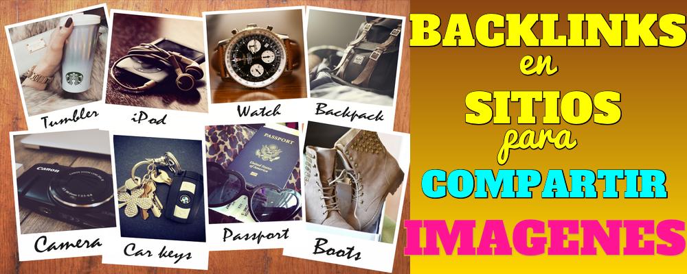 Backlinks en Sitios para Compartir Imagenes