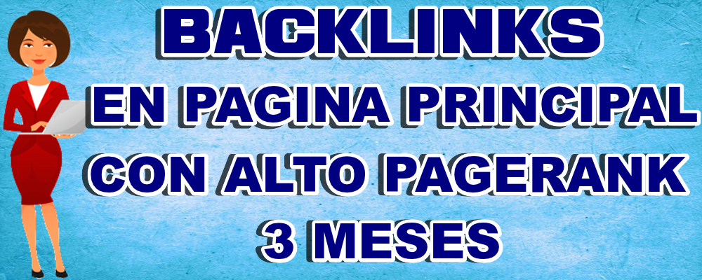 Backlinks Página Principal o Interna alto Page Authority 3 Meses
