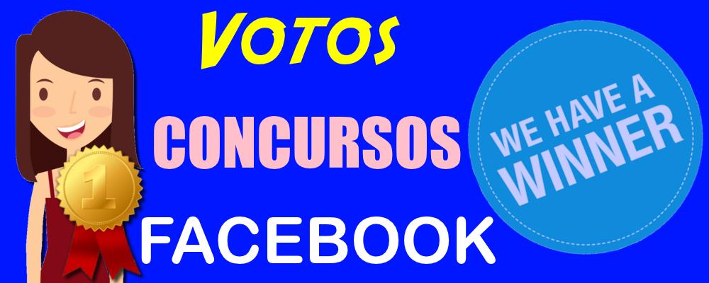 Votos de Facebook para Concursos