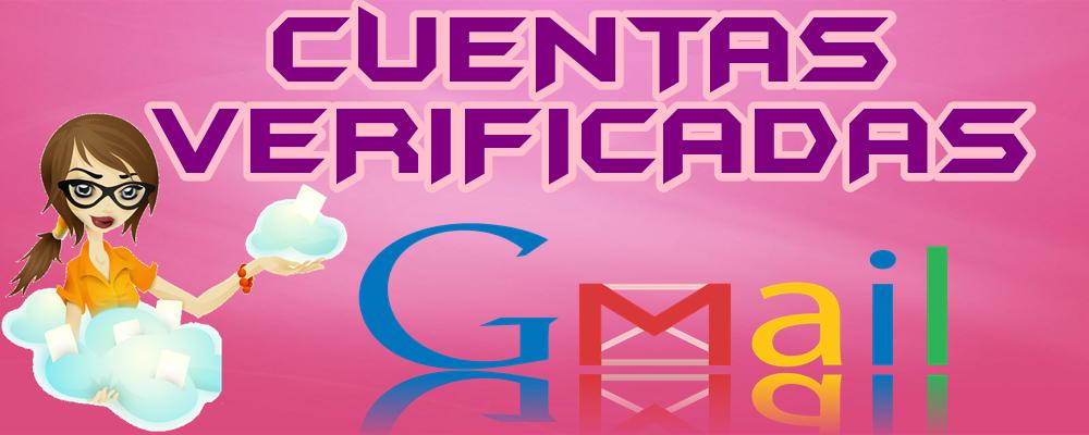 Cuentas Verificadas de GMail y YouTube
