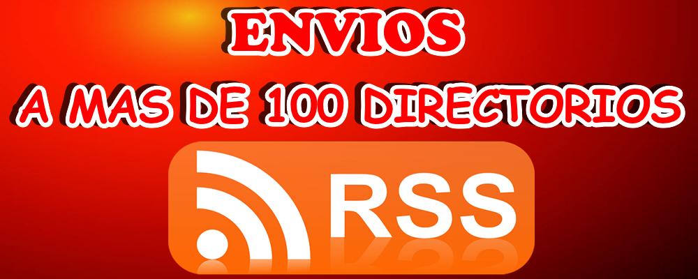 Envío de tu RSS a 100+ Directorios
