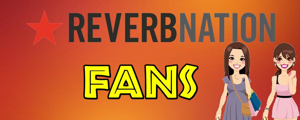 Fans para tu cuenta en ReverbNation