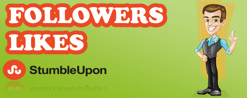 Followers / Likes en StumbleUpon