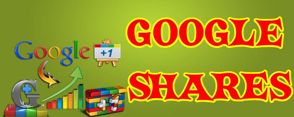 Google Shares para tu publicación en Google Plus