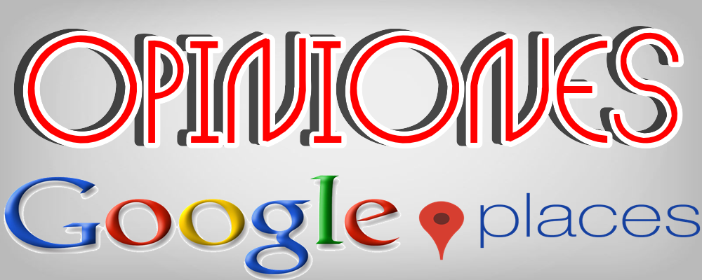 Opiniones Reseñas para Google Maps Places / Google My Business