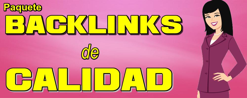 Paquete Integral 1: Backlinks de Calidad