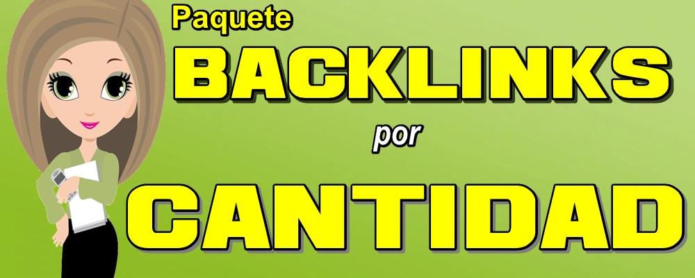 Paquete Integral 2: Backlinks por Cantidad