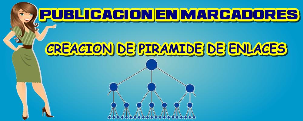 Publicación en Marcadores y Creación de Pirámide de Enlaces