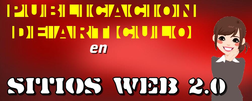 Publicación de Artículo en Sitios Web 2.0