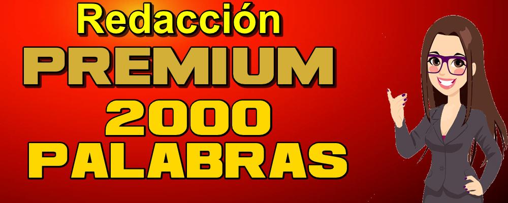 Artículo Premium de 2000 Palabras