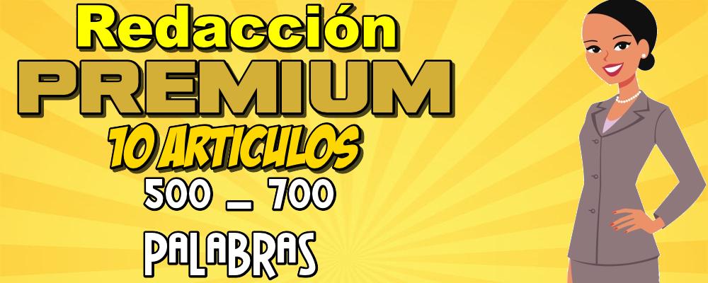 10 Artículos Premium de 500 a 700 Palabras