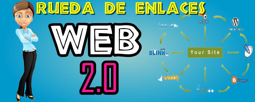 Publicación en Sitios Web 2.0 y Creación de Rueda de Enlaces