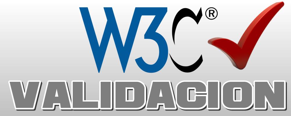 Arreglo y Validacion W3C de Página Web