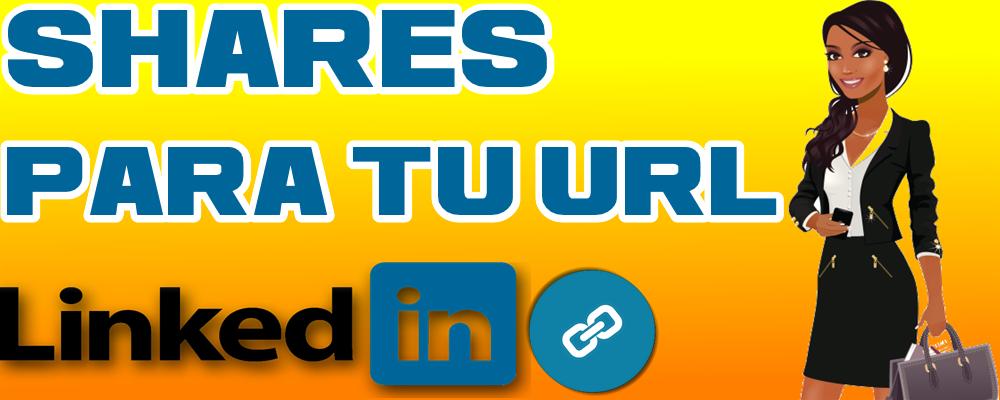 Shares en LinkedIn para tu URL