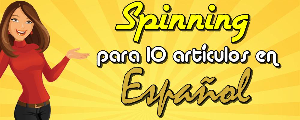 Spinning para 10 Artículos de 500 Palabras en Español