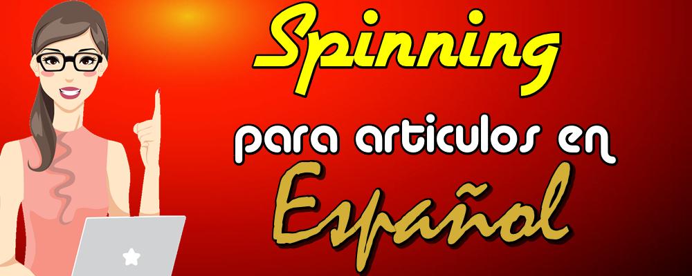 Spinning para 1 Artículo en Español con 1 reescritura