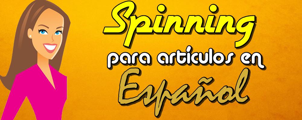 Spinning para 1 Artículo en Español con 3 reescrituras