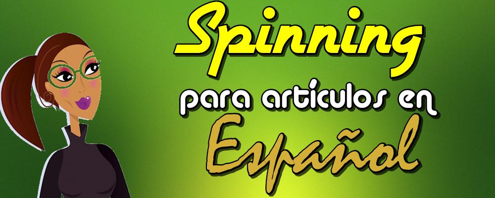Spinning para 1 Artículo en Español con 4 reescrituras